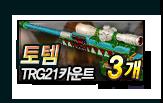 토템 TRG21 카운트 3개