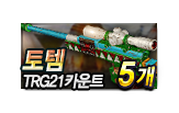 토템 TRG21 카운트 5개